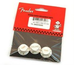 Stratocaster® Knob Set White