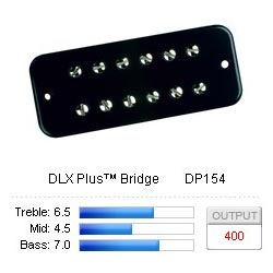 Pickup Soapbar DLX Plus/Bridge Black