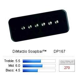 Pickup Soapbar Dogear Black