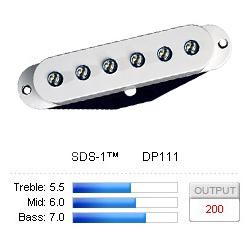 Pickup Strat SDS-1 White