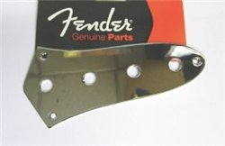 Fender Jazz bass standard control plate chrome
