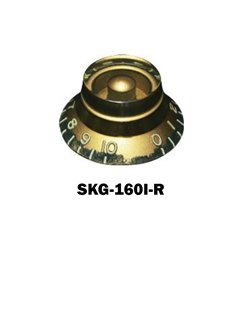 Hat knob Amberwith embossed numbers