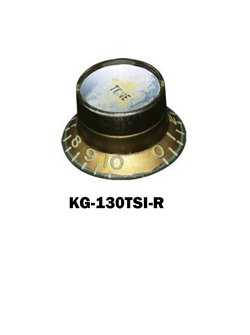 Gibson® style Gold Hat Knob with Gold volume plate.