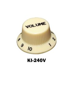Cream Fender® style ST volume knob