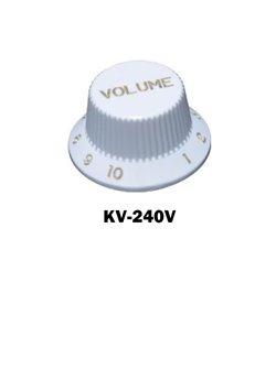White Fender® style ST volume knob