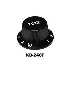 Black Fender® style ST Tone knob