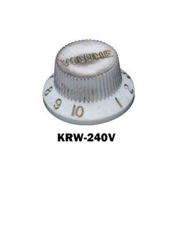 Relic white Fender® style ST Tone knob