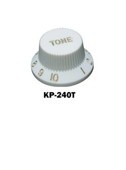 Parchment white Fender® style ST Tone knob