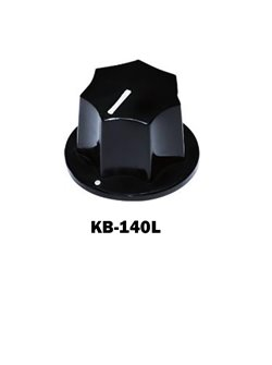 Control Knobs for Bass Large, Black