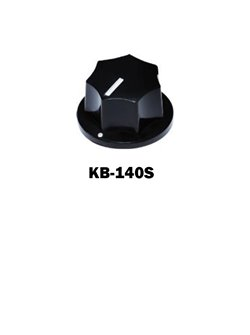 Control Knobs for Bass Small, Black