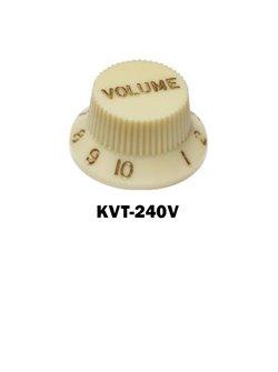 Vintage White  Fender® style ST volume knob.