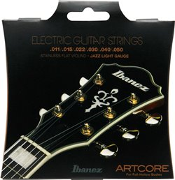 Sträng Electric Flatwound 011-050 Jazz Light