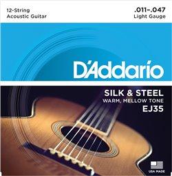 Strängset Silk & Steel 12-strängad 011-047