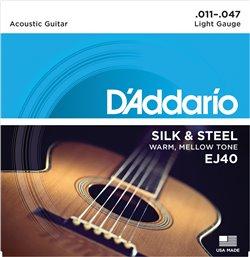 Strängset Silk & Steel 011-047