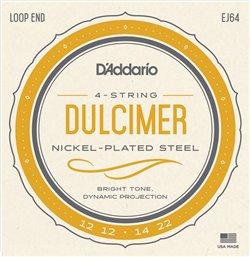 Strängset Dulcimer 4-strängad 012-022