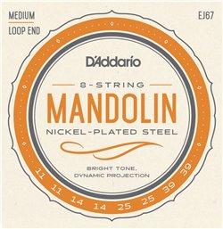 Strängset Mandolin Nickel 011-039 Medium