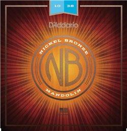 Strängset Mandolin Nickel Bronze 010-038 Light