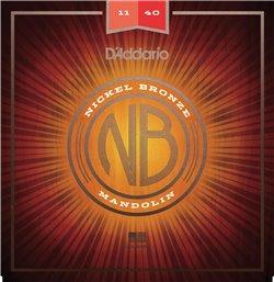 Strängset Mandolin Nickel Bronze 011-040 Medium