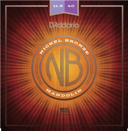 Strängset Mandolin Nickel Bronze 0115-040 Custom Medium