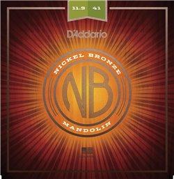 Strängset Mandolin Nickel Bronze 0115-041 Mediumed Heavy