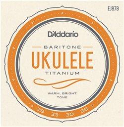 Strängset Ukulele Baritone Titanium