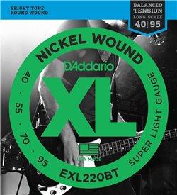 Strängset Elbas Nickel Wound 040 - 095 Balanced Tension