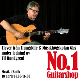 Elevkonsert under ledning av Ulf Bandgren 18 april kl. 14.00