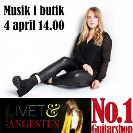 Frida Braxell 4 april kl. 14.00